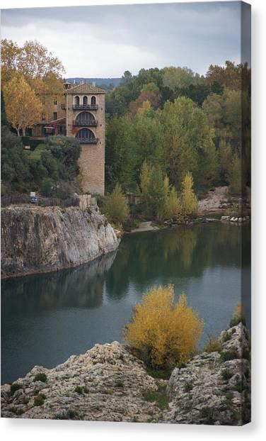 From Pont Du Gard Canvas Print