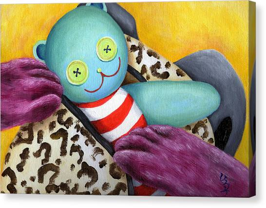 Canvas Print - From Purple Cat Illustration 21 by Hiroko Sakai