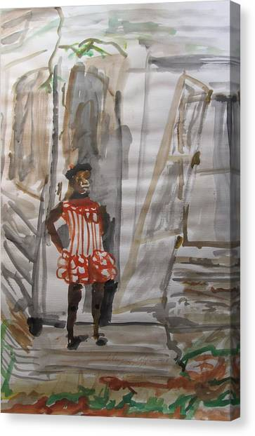 From Slavery To Penury Canvas Print