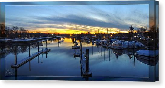 From The  Bridge Canvas Print