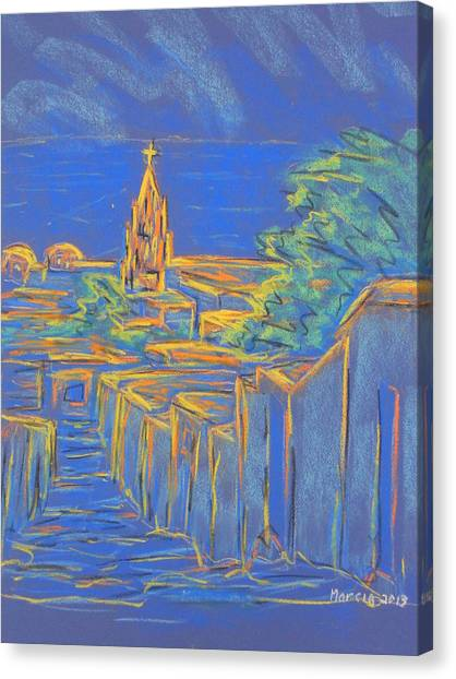 From The Heights Canvas Print by Marcia Meade