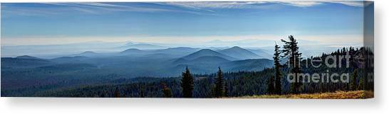 From The Rim Canvas Print
