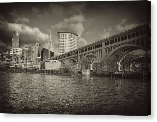 From The River Bank Canvas Print