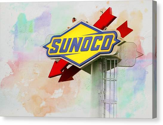 From The Sunoco Roost Canvas Print