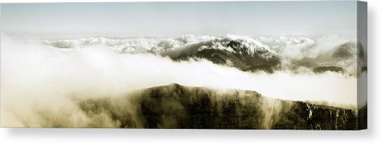 Table Mountain Canvas Print - From The Top Of Table Mountain by Fabrizio Troiani
