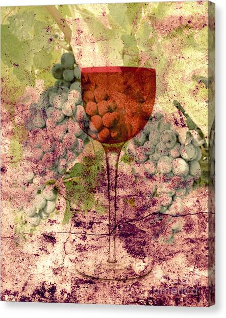 From The Vine Canvas Print