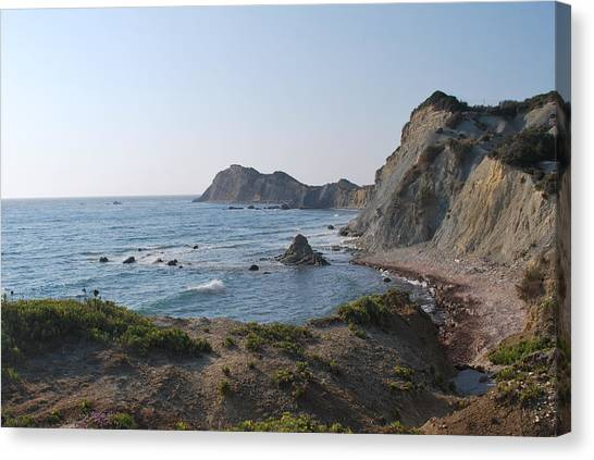 From The West Canvas Print