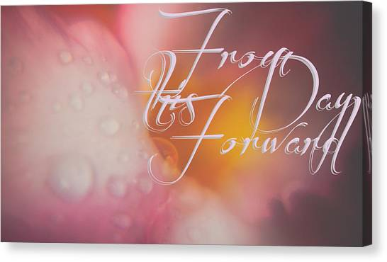 From This Day Forward  Canvas Print