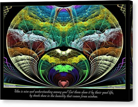 From Wisdom Canvas Print
