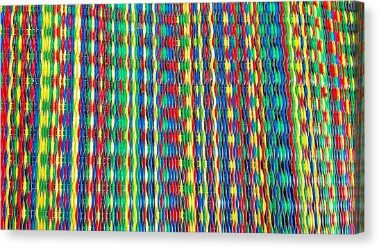 Front Porch Rug Canvas Print by Larry Bodinson