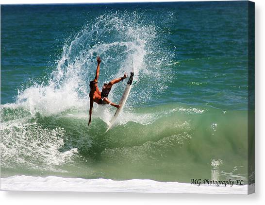 Front Side Air Canvas Print