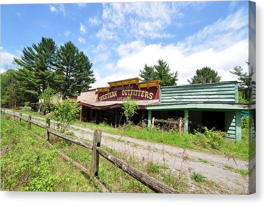 Frontier Town North Hudson Ny Canvas Print
