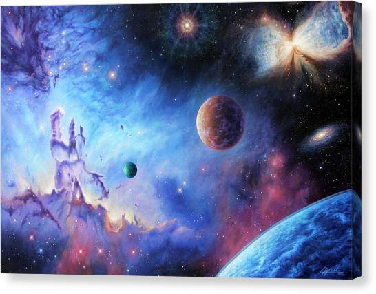 Frontiers Of The Cosmos Canvas Print