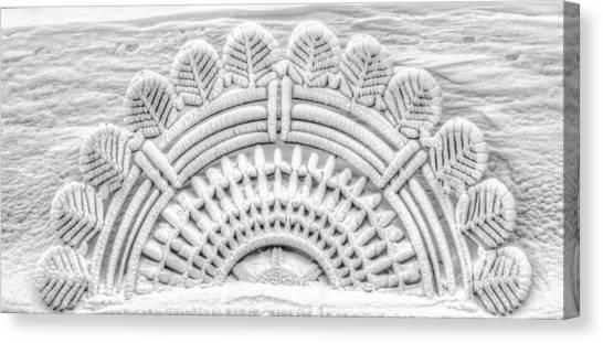 Frozen Architecture Canvas Print