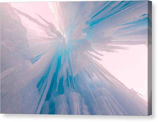 Utah Canvas Print - Frozen by Chad Dutson