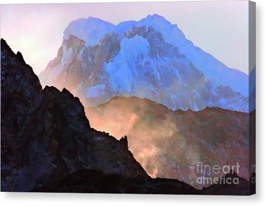 Frozen - Torres Del Paine National Park Canvas Print
