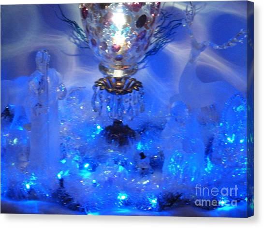 Frozen Nativity Canvas Print