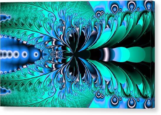 Canvas Print - Frozen Phoenix by Betsy Jones