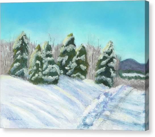 Frozen Sunshine Canvas Print