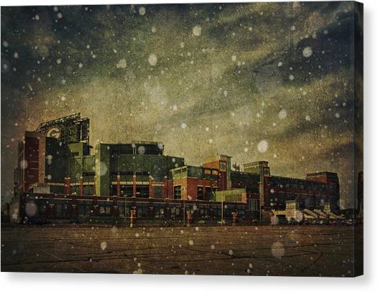 Frozen Tundra Part II - Lambeau Field Canvas Print