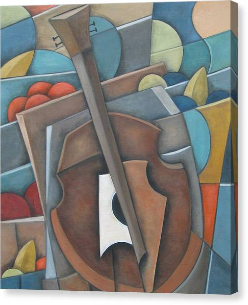 Fruit Cello Canvas Print