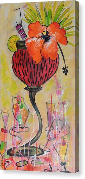 Fruit Cocktail Anyone Canvas Print