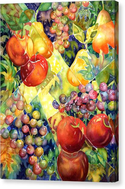 Fruit Fantasy Canvas Print