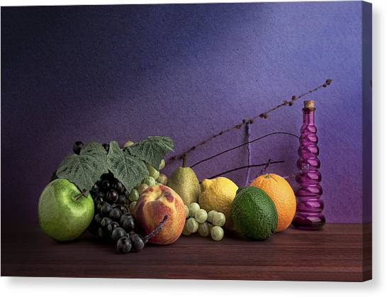 Citrus Canvas Print - Fruit In Still Life by Tom Mc Nemar