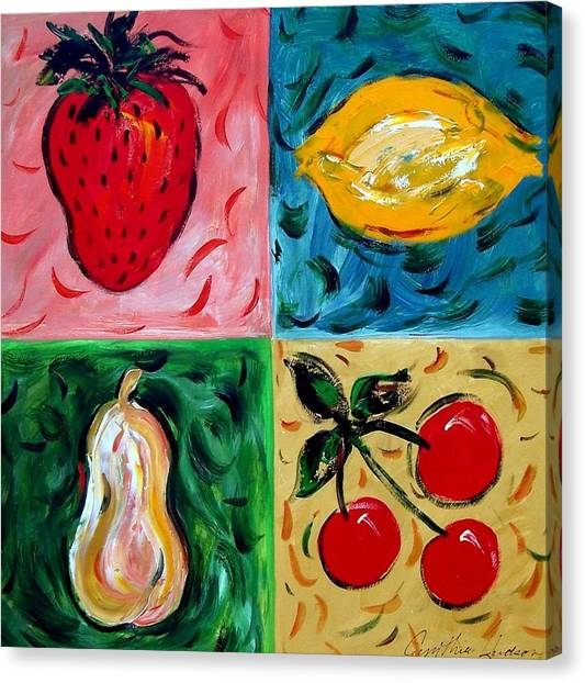 Fruit Ll Canvas Print by Cynthia Hudson