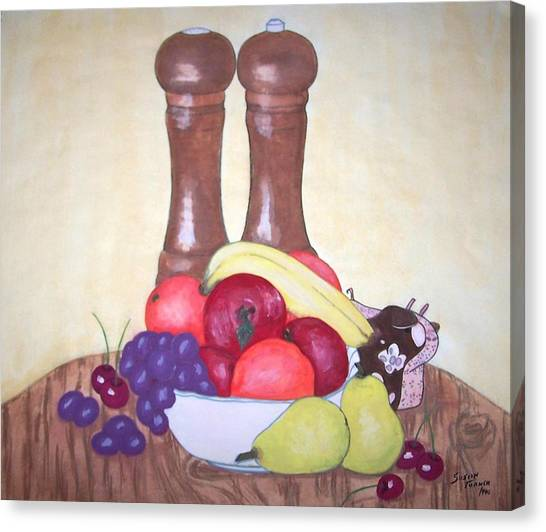 Fruit Table Canvas Print