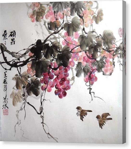 Fruitfull Size 5 Canvas Print by Mao Lin Wang