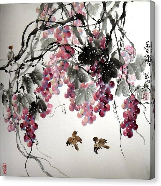 Fruitfull Size Canvas Print by Mao Lin Wang