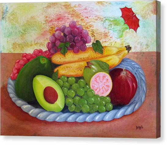Fruits Delight Canvas Print