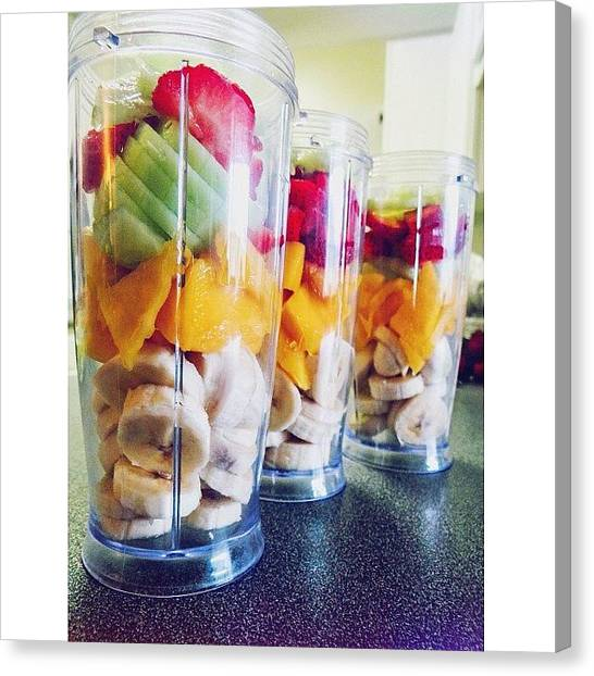 Mangos Canvas Print - Fruits Which Blend Well When You by Alexandria Walker