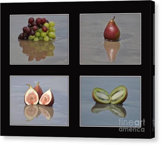 Fruitscapes Collage One Canvas Print
