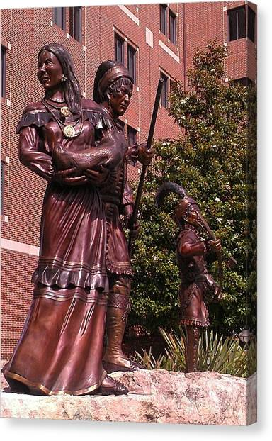Florida State Fsu Canvas Print - F S U Seminoles by Lew Davis
