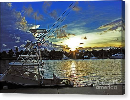 Ft. Lauderdale Sunset Canvas Print