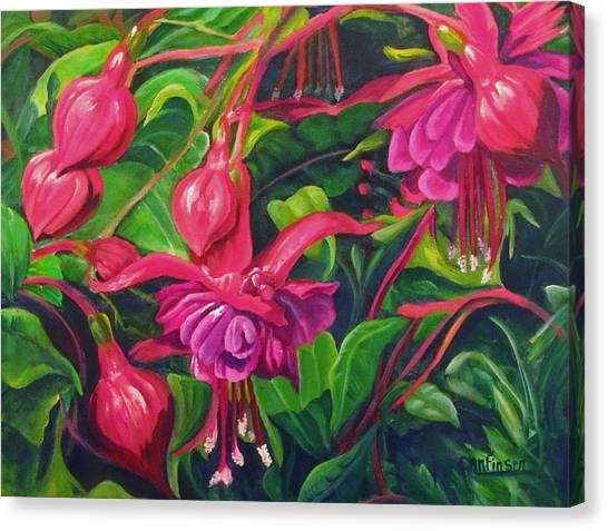 Fuchsia Fantastic Canvas Print