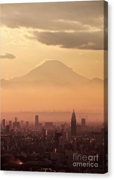 Mount Fuji Canvas Print - Fujisan by Delphimages Photo Creations