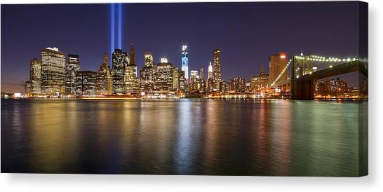 Full City View Canvas Print by Shane Psaltis