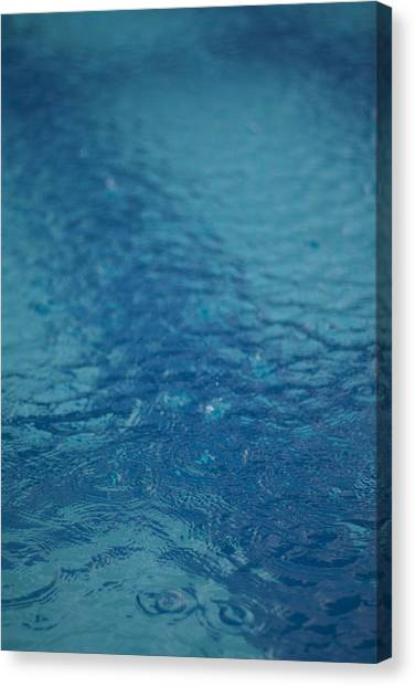 Full Frame Shot Of Swimming Pool Canvas Print by Anselm Lier / EyeEm