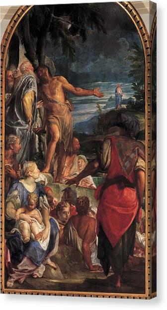 Lead Character Canvas Print - Fumiani Giovanni Antonio, The Sermon by Everett