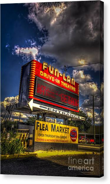 Fleas Canvas Print - Fun-lan by Marvin Spates
