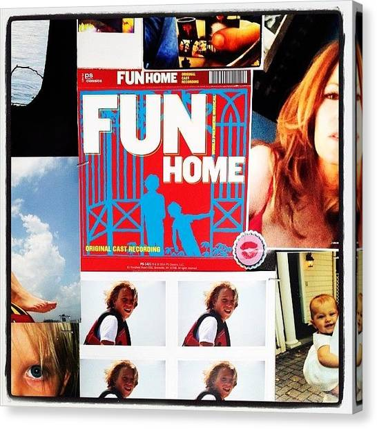 Canvas Print - @funhome So So So Wonderful !! by Rosie Odonnell