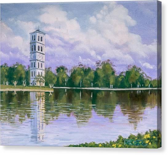 Furman University Clock Tower Canvas Print