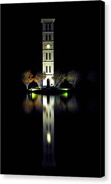 Furman University Tower  Greenville Sc Canvas Print