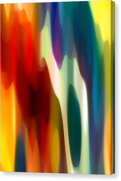Abstract Seascape Canvas Print - Fury 3 by Amy Vangsgard