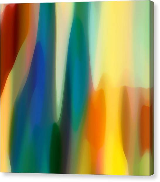 Abstract Seascape Canvas Print - Fury 6 by Amy Vangsgard
