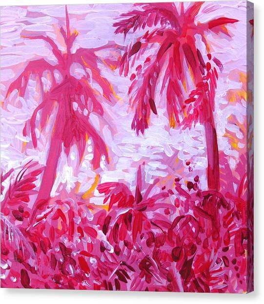 Fuschia Landscape Canvas Print