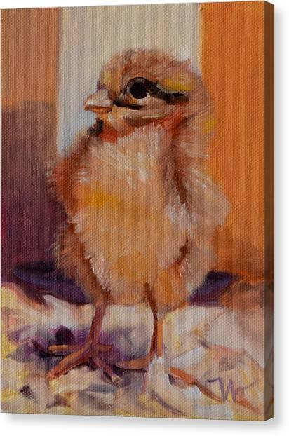 Future Egg Layer Canvas Print